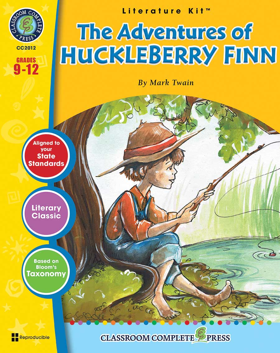 The Adventures of Huckleberry Finn - Literature Kit Gr. 9-12 - print book