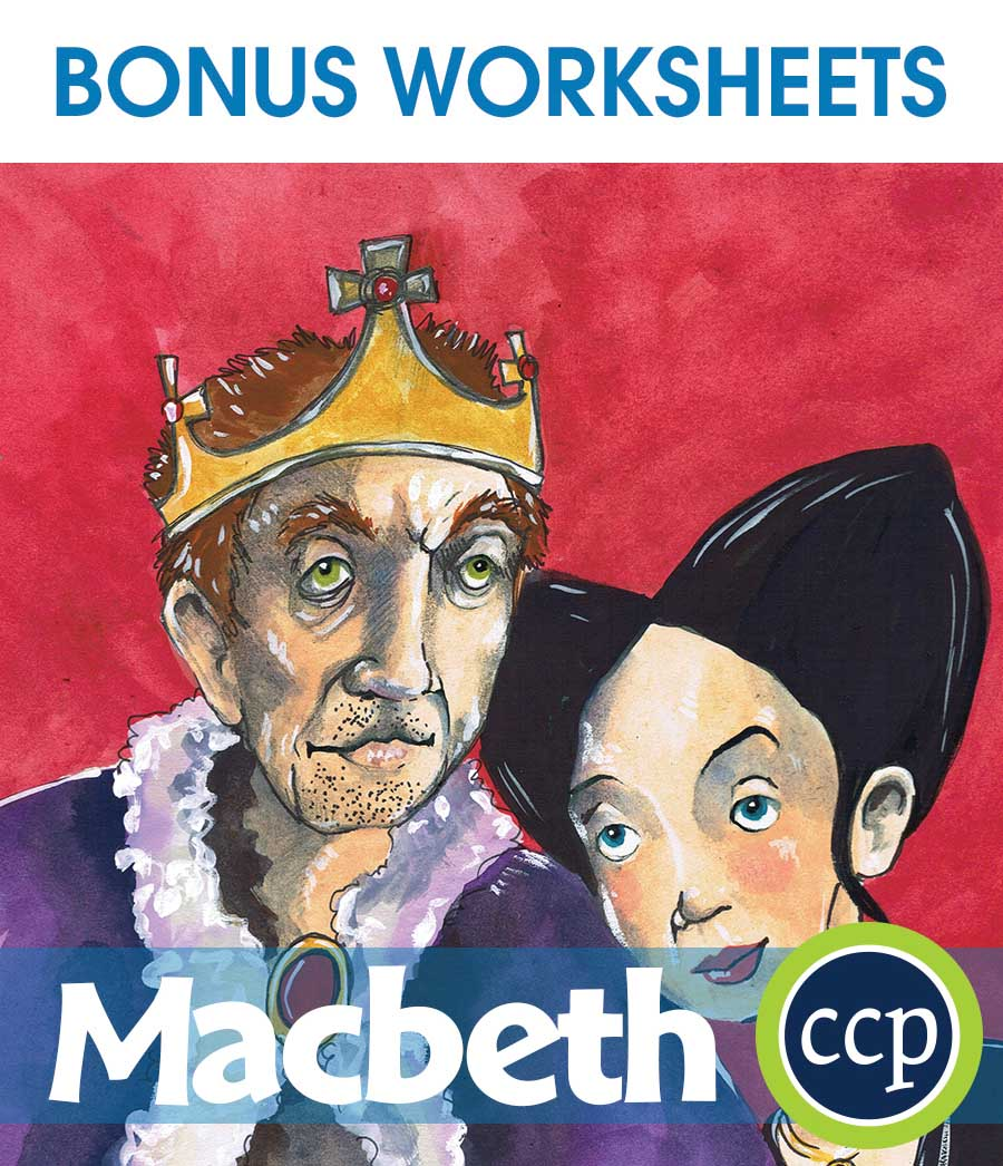 Macbeth - Literature Kit Gr. 9-12 - BONUS WORKSHEETS - eBook