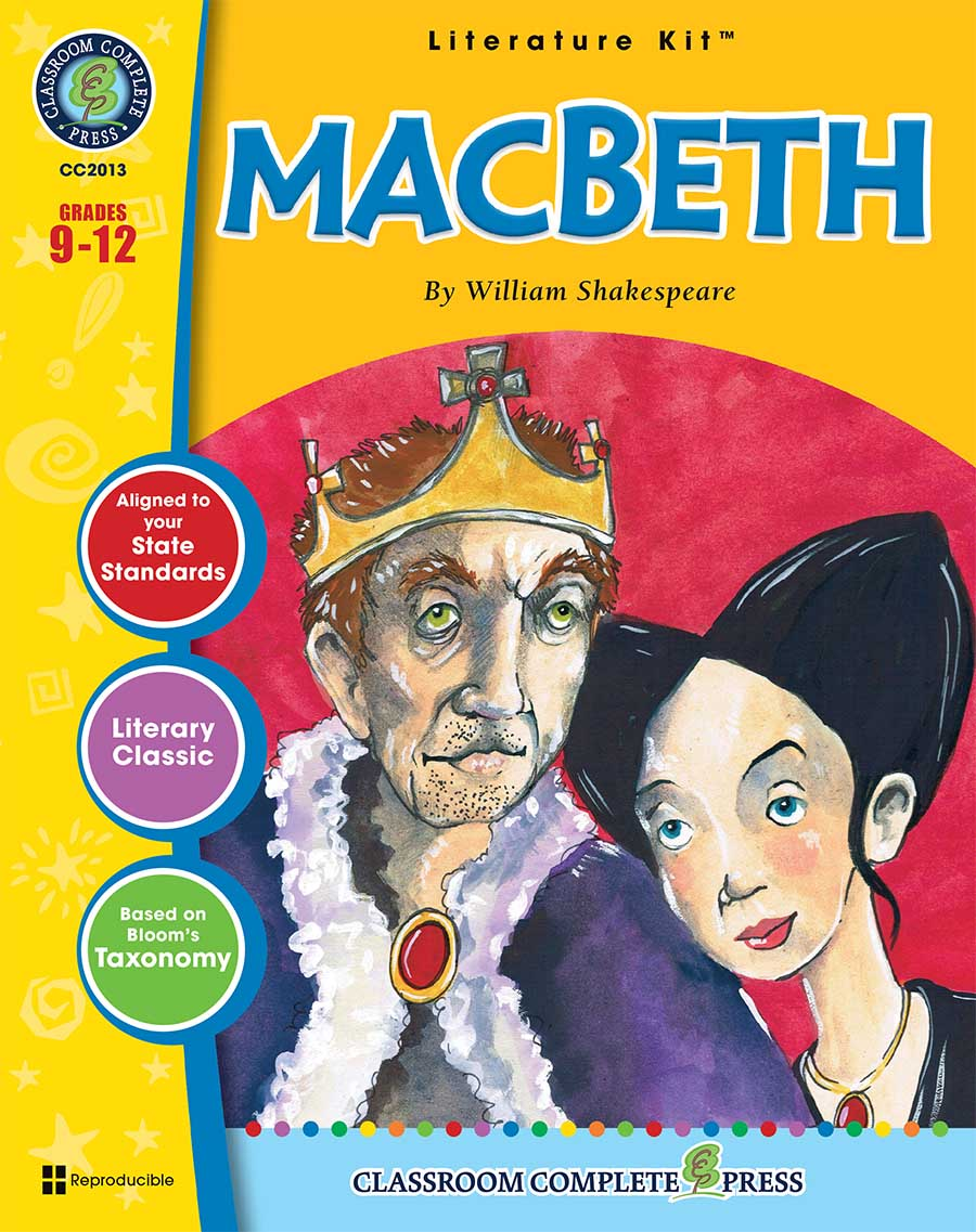 Macbeth - Literature Kit Gr. 9-12 - print book