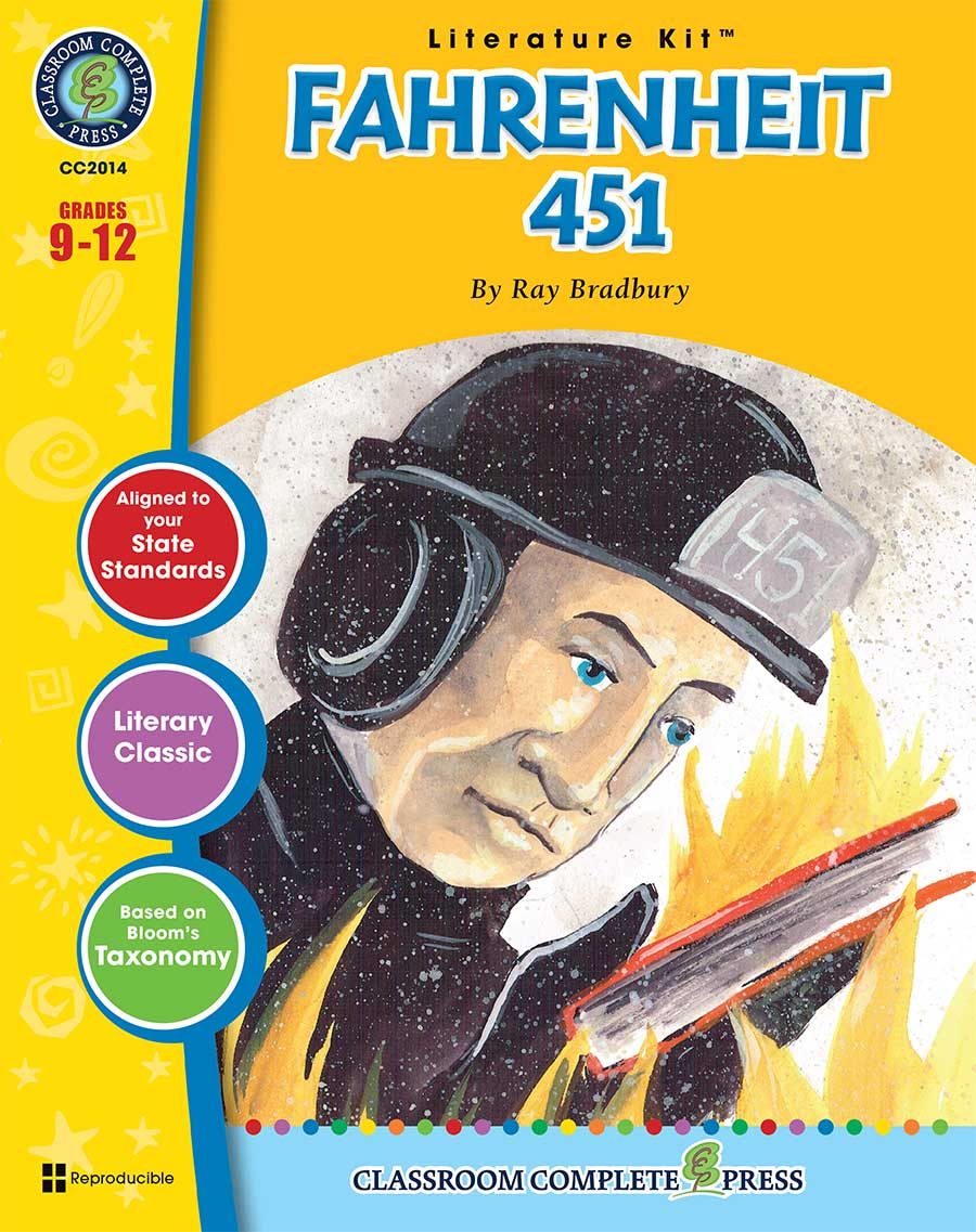 Fahrenheit 451 - Literature Kit Gr. 9-12 - print book