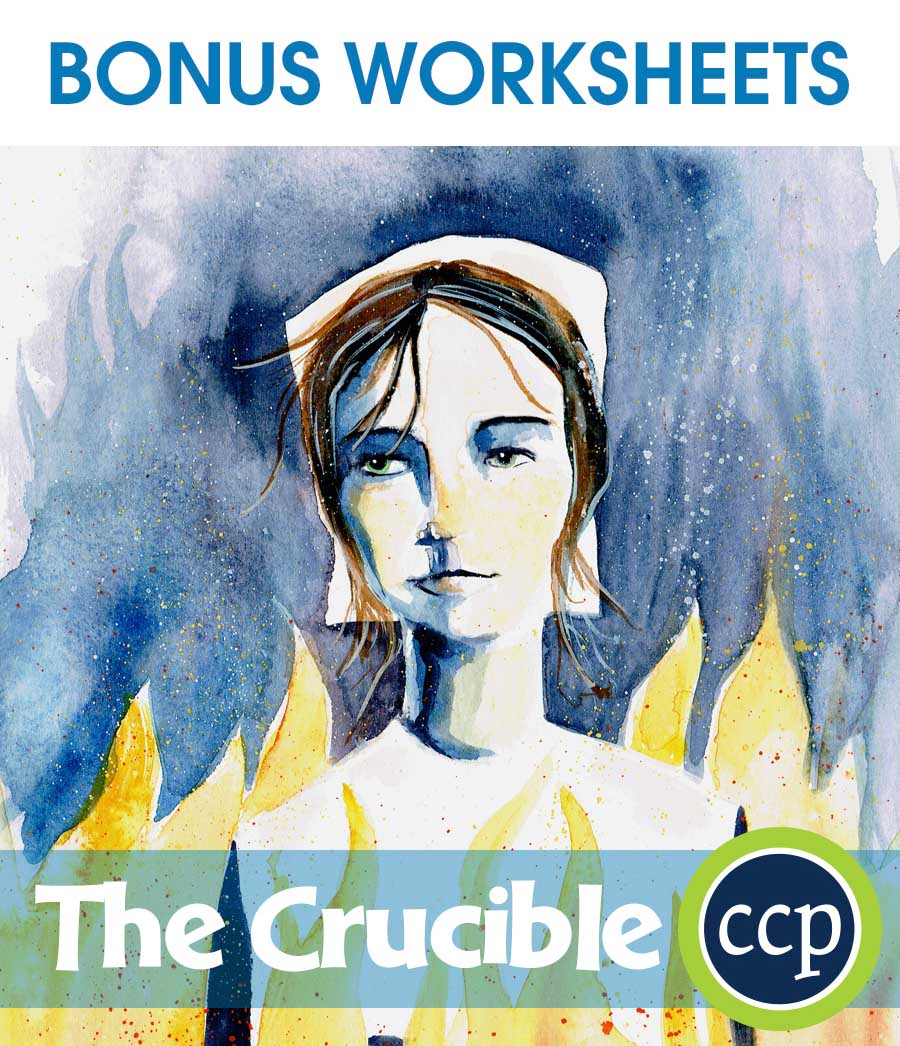 The Crucible - Literature Kit Gr. 9-12 - BONUS WORKSHEETS - eBook
