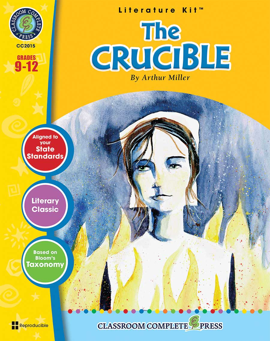 The Crucible - Literature Kit Gr. 9-12 - print book