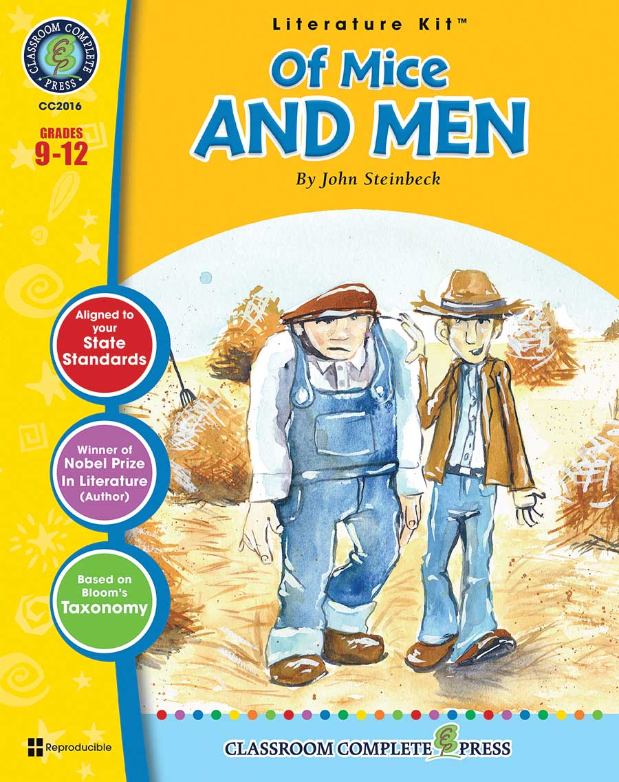 Of Mice and Men - Literature Kit Gr. 9-12 - print book