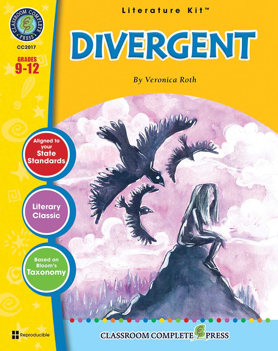 Divergent - Literature Kit Gr. 9-12 - print book