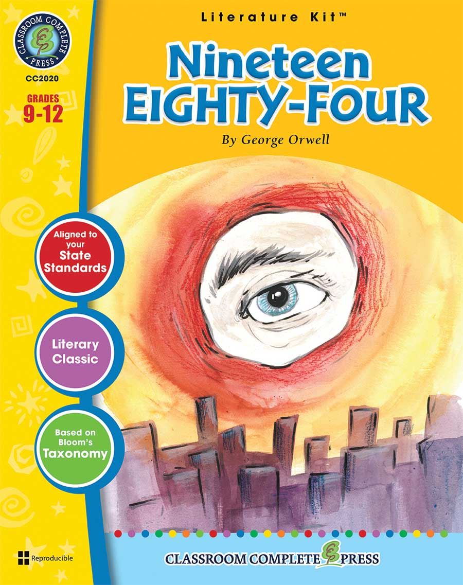 Nineteen Eighty-Four - Literature Kit Gr. 9-12 - print book