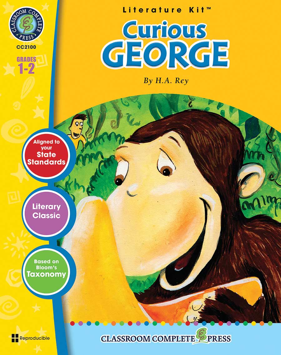 Curious George - Literature Kit Gr. 1-2 - print book
