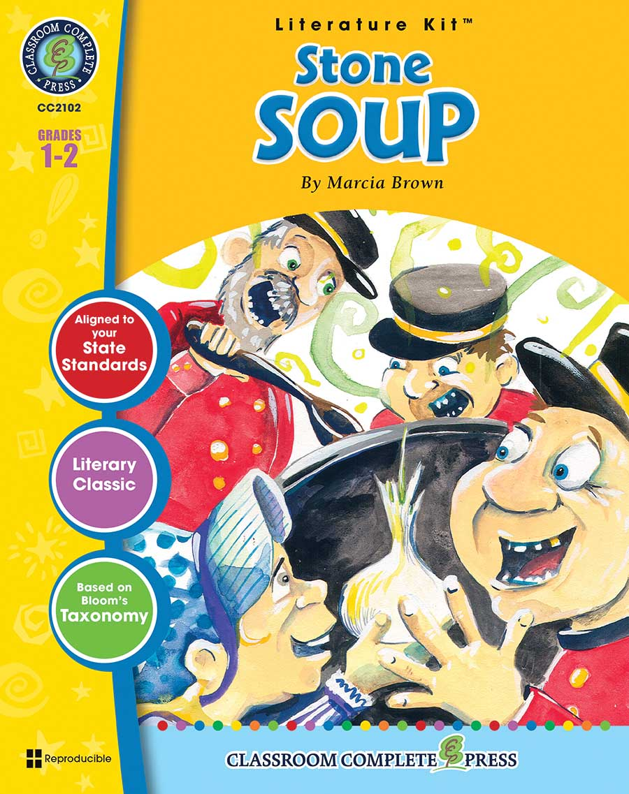 Stone Soup - Literature Kit Gr. 1-2 - print book
