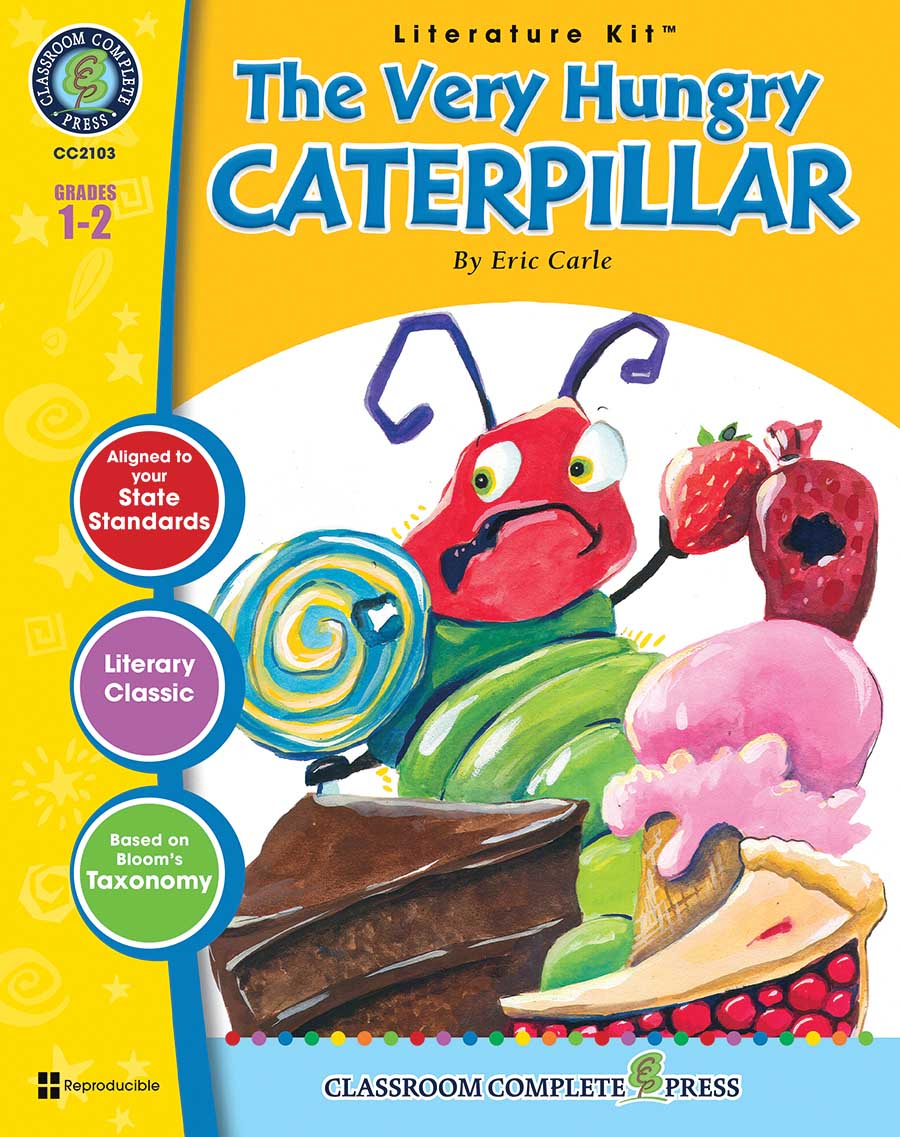 The Very Hungry Caterpillar - Literature Kit Gr. 1-2 - print book