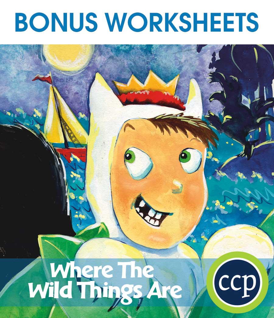 Where the Wild Things Are - Literature Kit Gr. 1-2 - BONUS WORKSHEETS - eBook