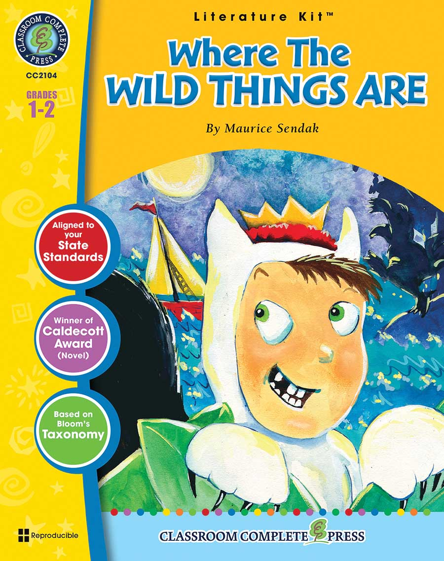 Where the Wild Things Are - Literature Kit Gr. 1-2 - print book