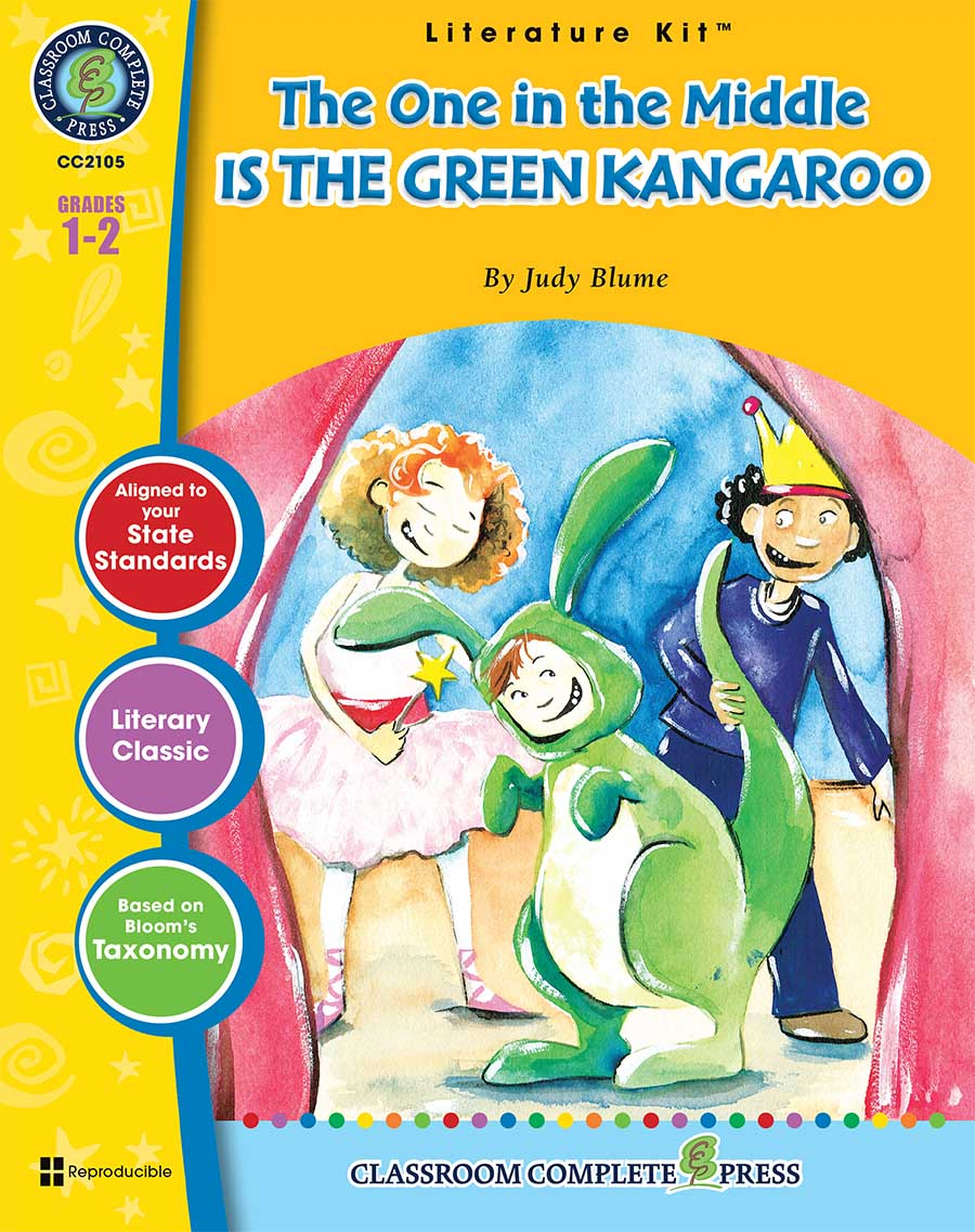 The One in the Middle Is the Green Kangaroo - Literature Kit Gr. 1-2 - print book