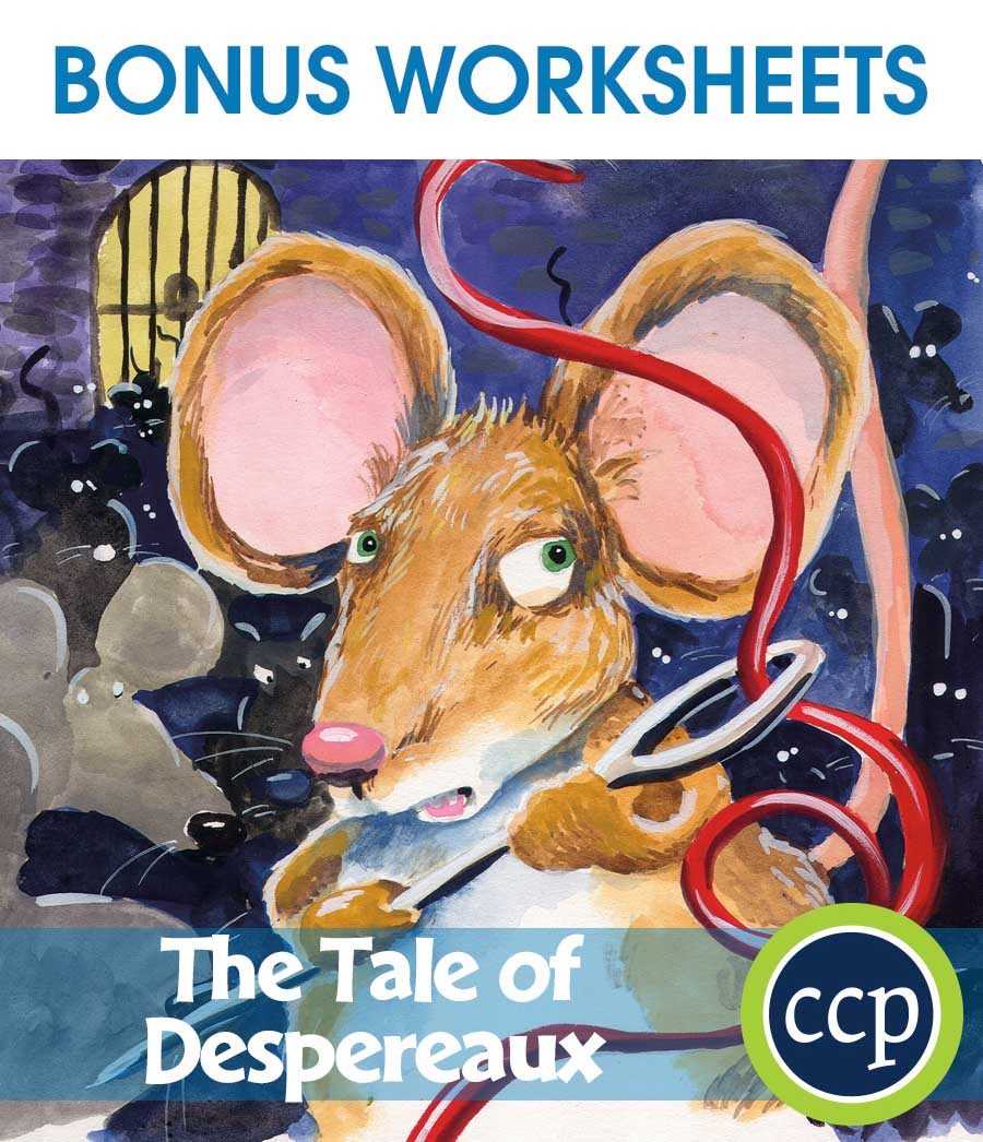 The Tale of Despereaux - Literature Kit Gr. 3-4 - BONUS WORKSHEETS - eBook