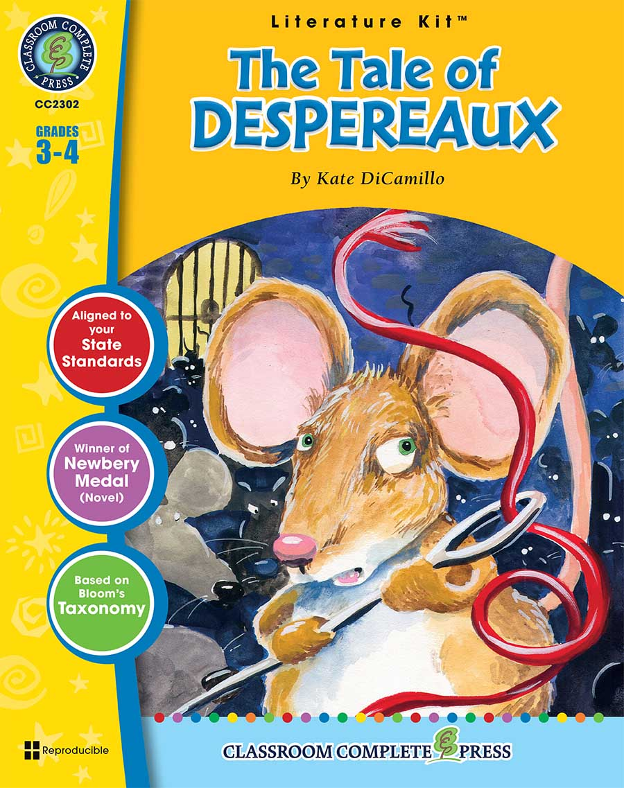 The Tale of Despereaux - Literature Kit Gr. 3-4 - print book