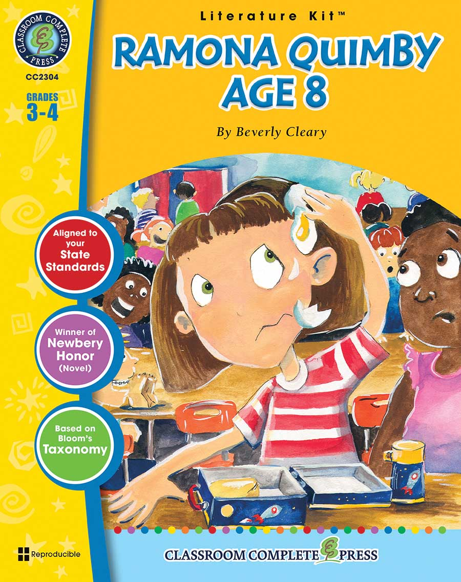 Ramona Quimby, Age 8 - Literature Kit Gr. 3-4 - print book