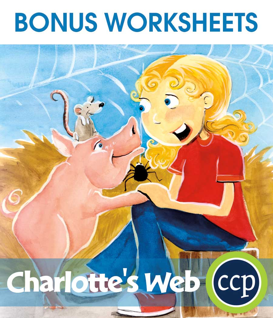 Charlotte's Web - Literature Kit Gr. 3-4 - BONUS WORKSHEETS - eBook