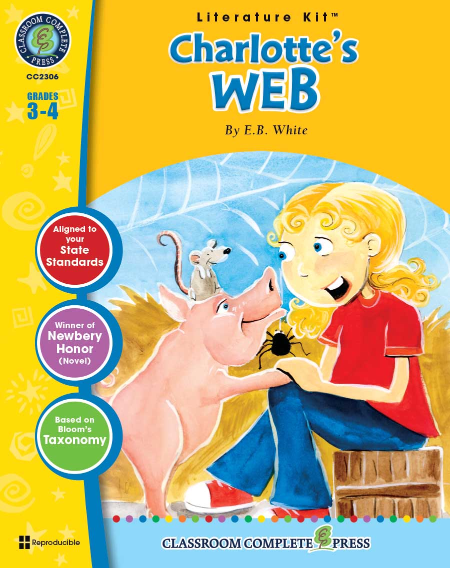 Charlotte's Web - Literature Kit Gr. 3-4 - print book