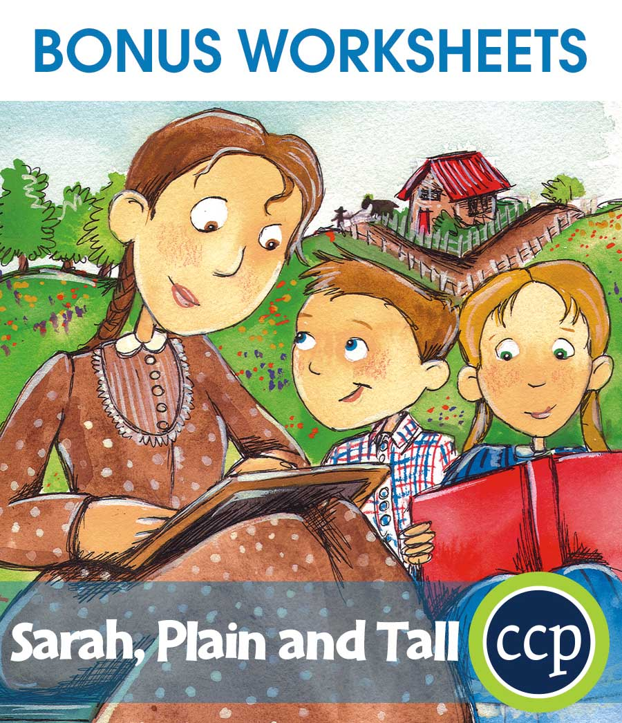 Worksheets Sarah Plain And Tall Worksheets sarah plain and tall bonus worksheets grades 3 to 4 ebook literature kit gr worksheets