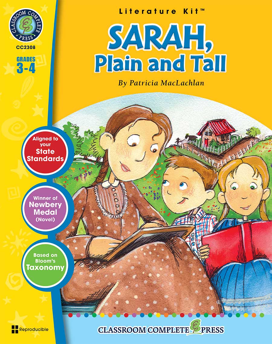 Sarah, Plain and Tall - Literature Kit Gr. 3-4 - print book