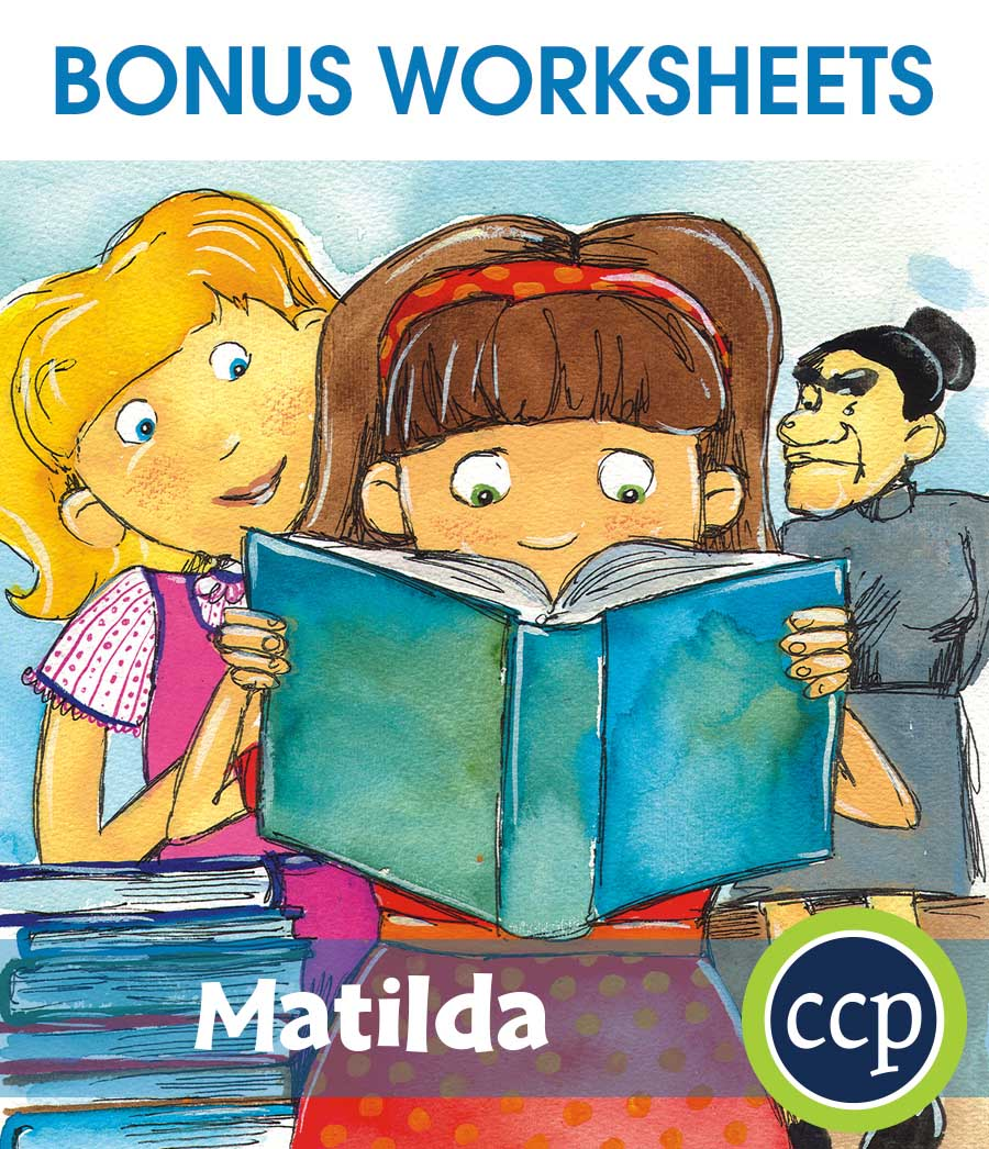 Matilda - Literature Kit Gr. 3-4 - BONUS WORKSHEETS - eBook