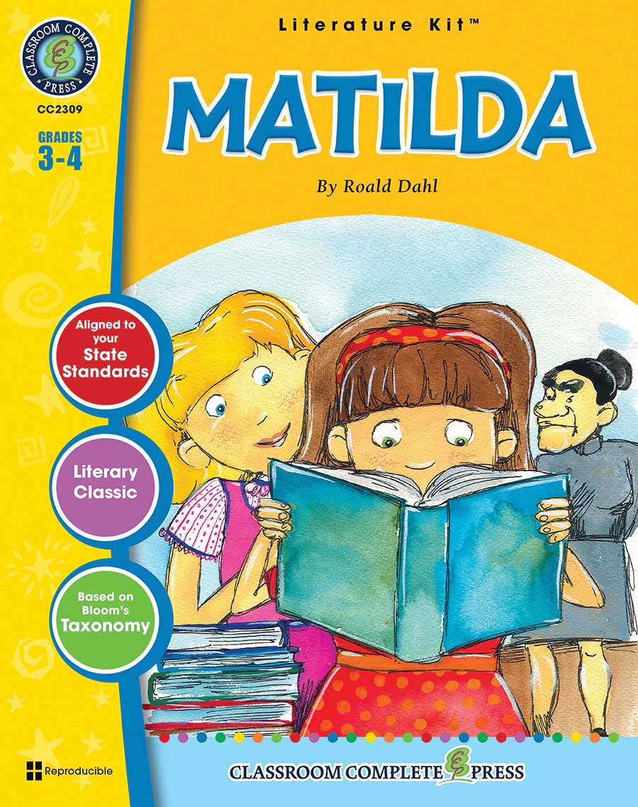 Matilda - Literature Kit Gr. 3-4 - print book