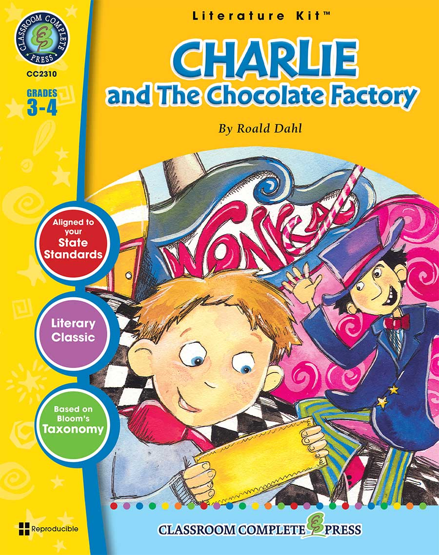 Charlie & The Chocolate Factory - Literature Kit Gr. 3-4 - print book