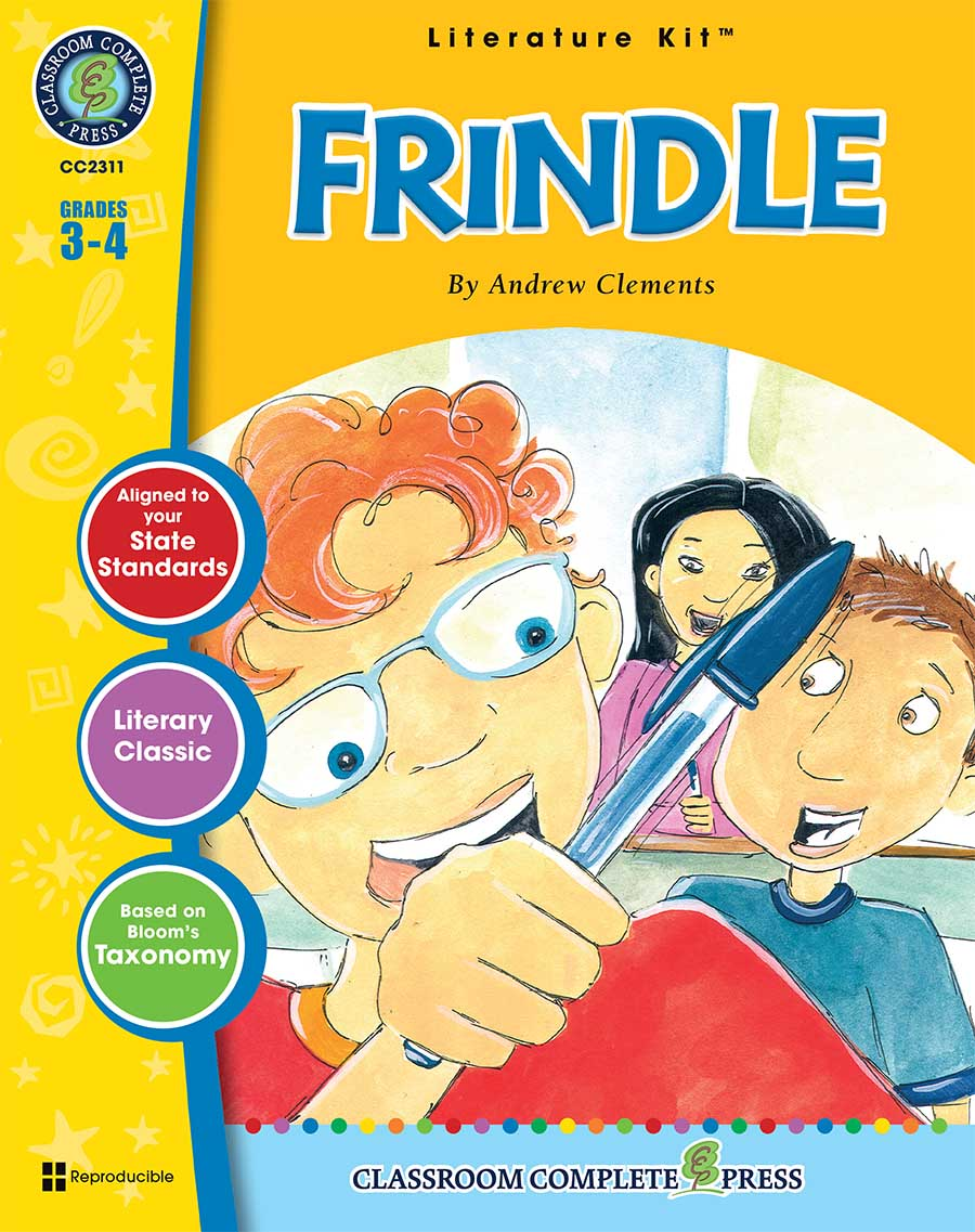 Frindle - Literature Kit Gr. 3-4 - print book