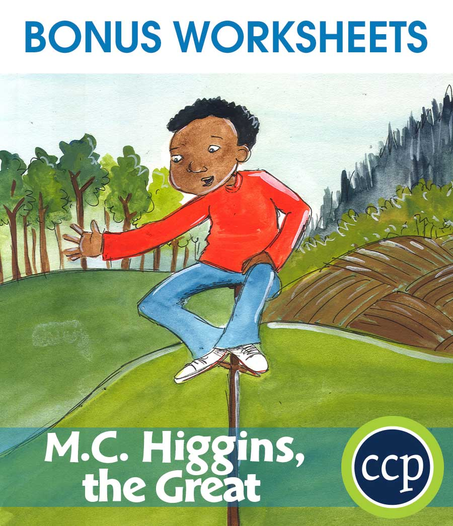 M.C. Higgins, the Great - Literature Kit Gr. 3-4 - BONUS WORKSHEETS - eBook