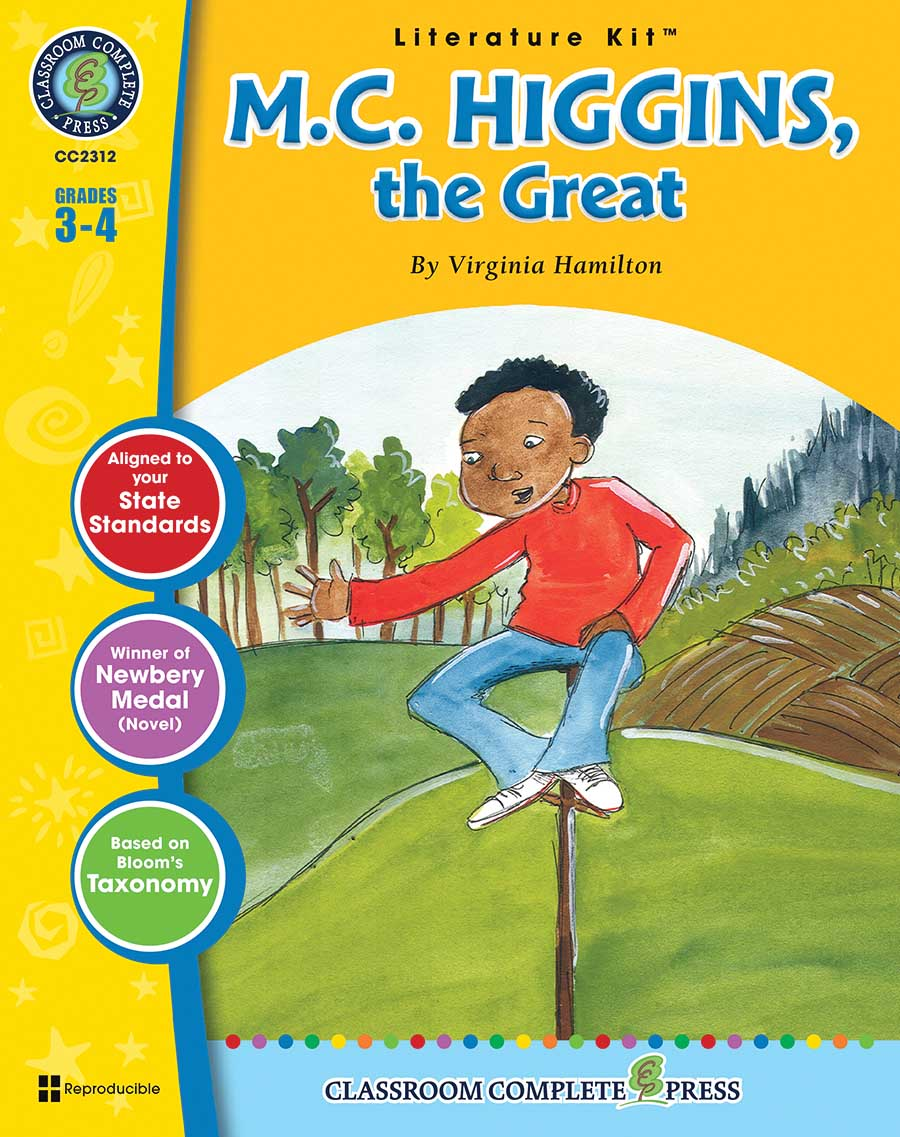 M.C. Higgins, the Great - Literature Kit Gr. 3-4 - print book