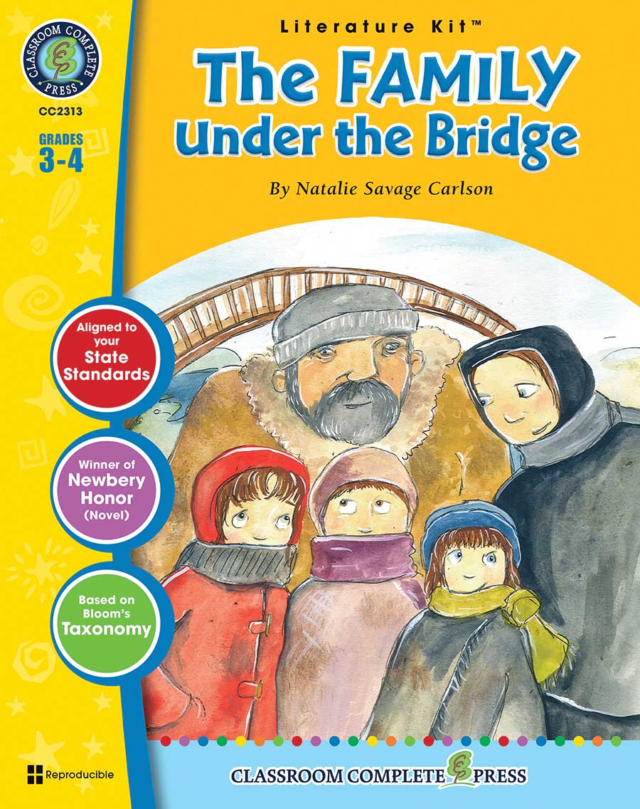 The Family Under the Bridge - Literature Kit Gr. 3-4 - print book