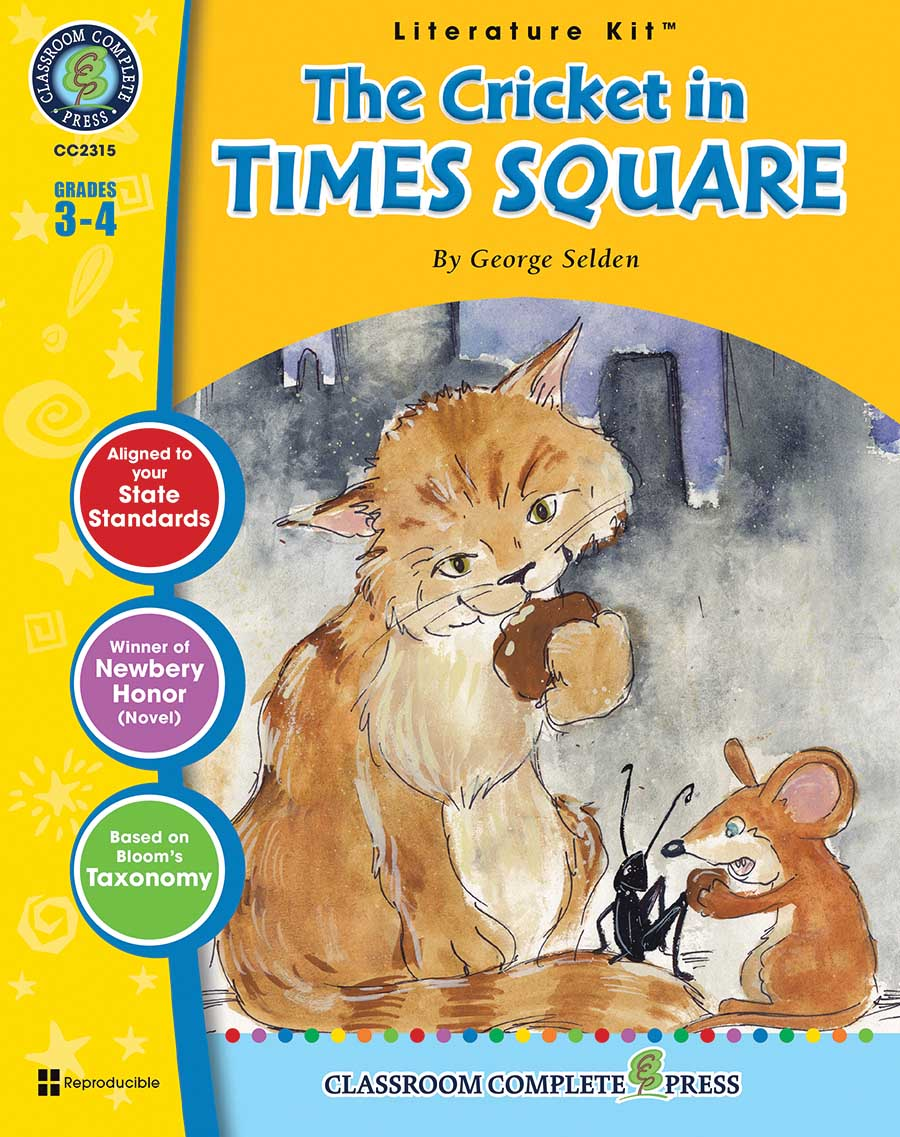 The Cricket in Times Square - Literature Kit Gr. 3-4 - print book