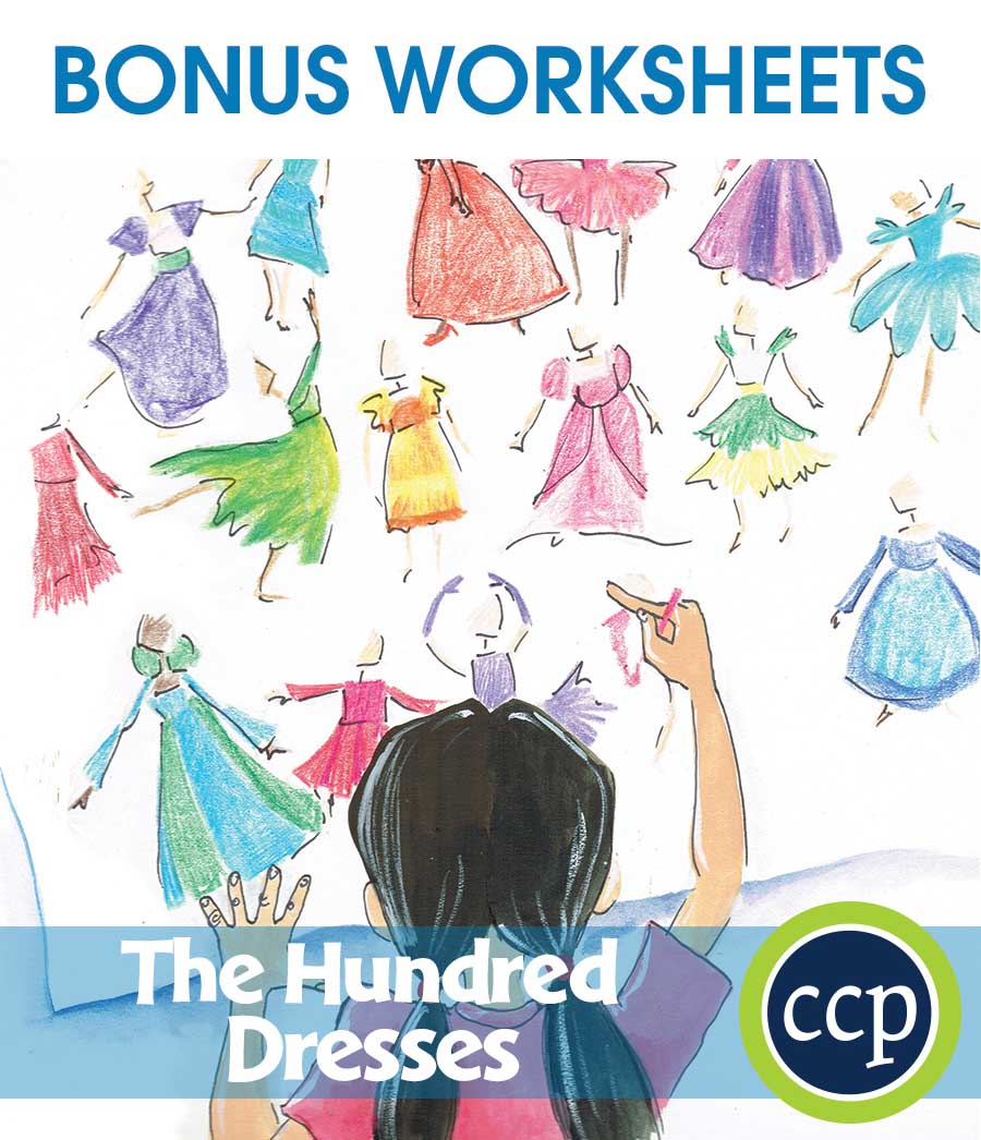 The Hundred Dresses - Literature Kit Gr. 3-4 - BONUS WORKSHEETS - eBook