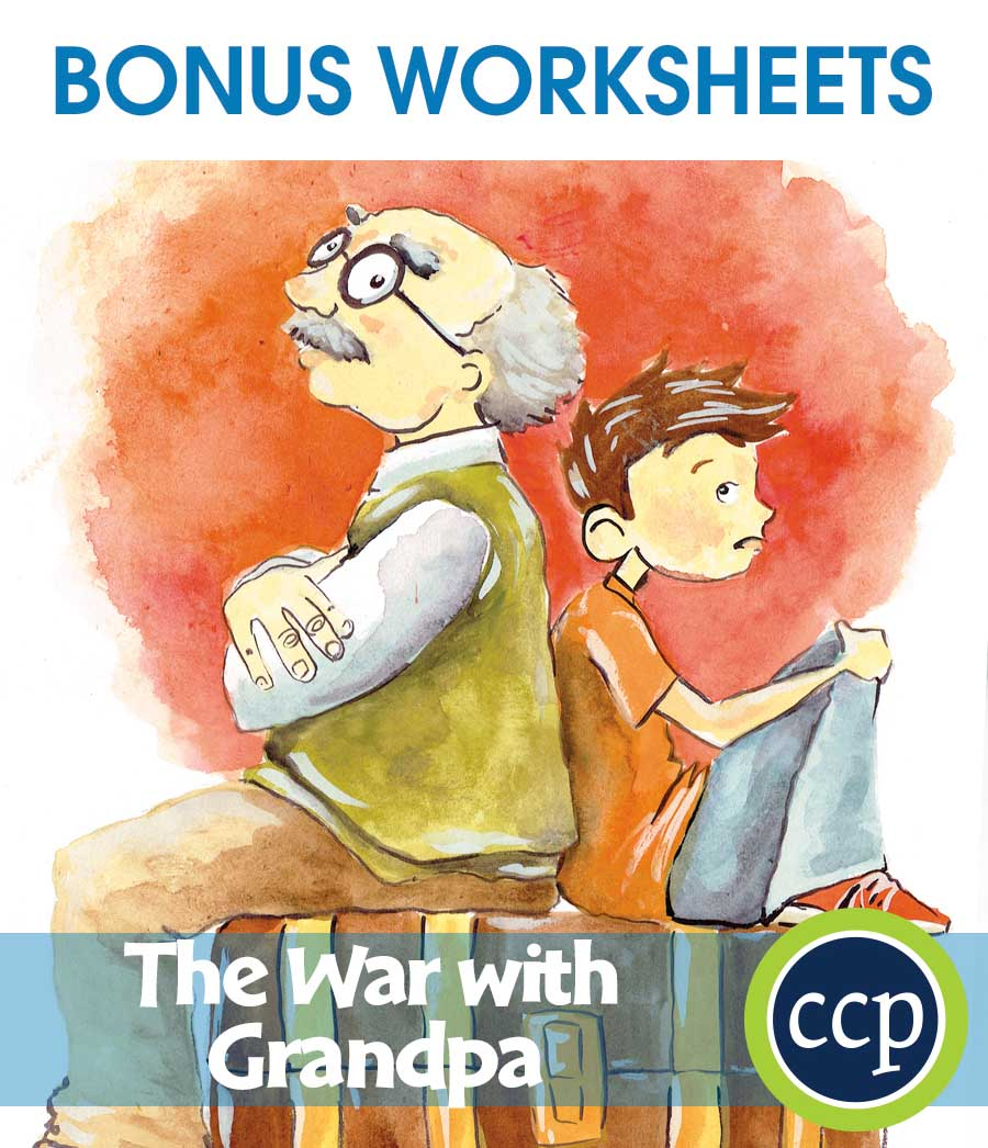 The War with Grandpa - Literature Kit Gr. 3-4 - BONUS WORKSHEETS - eBook