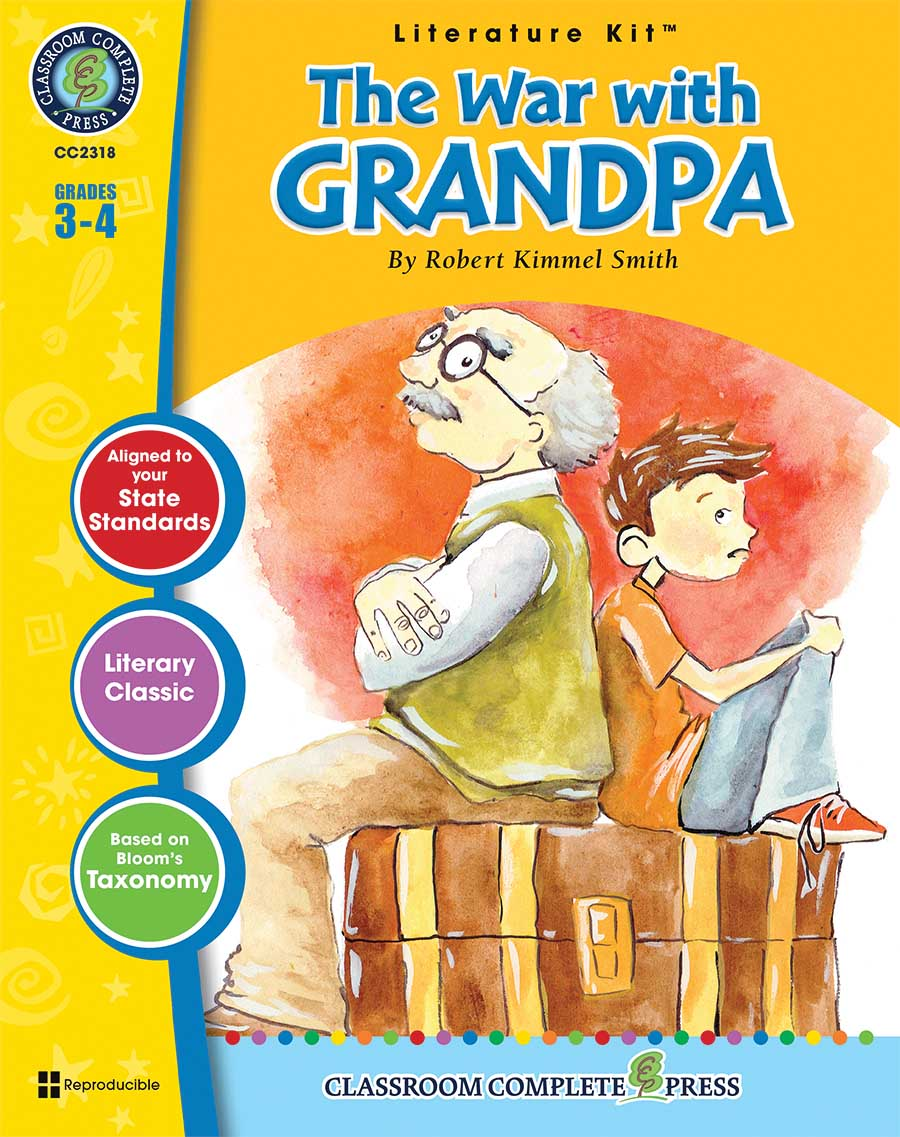 The War with Grandpa - Literature Kit Gr. 3-4 - print book