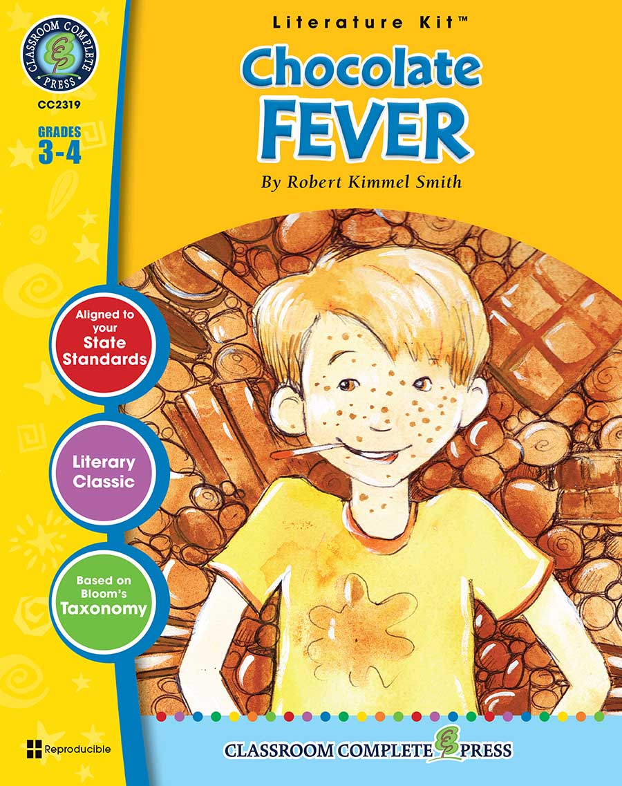 Chocolate Fever - Literature Kit Gr. 3-4 - print book