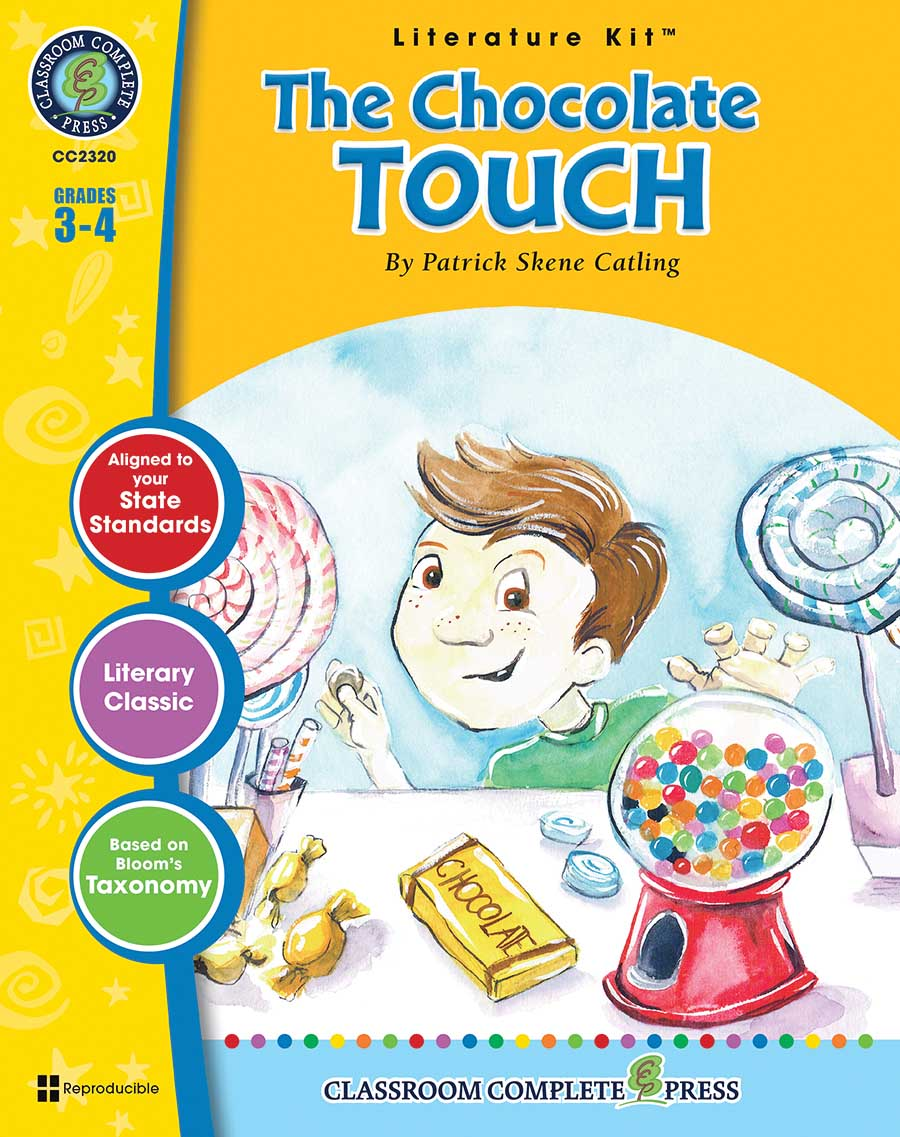 The Chocolate Touch - Literature Kit Gr. 3-4 - print book