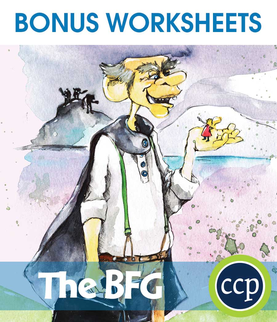 The BFG - Literature Kit Gr. 3-4 - BONUS WORKSHEETS - eBook