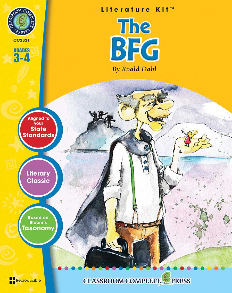 The BFG - Literature Kit Gr. 3-4 - print book