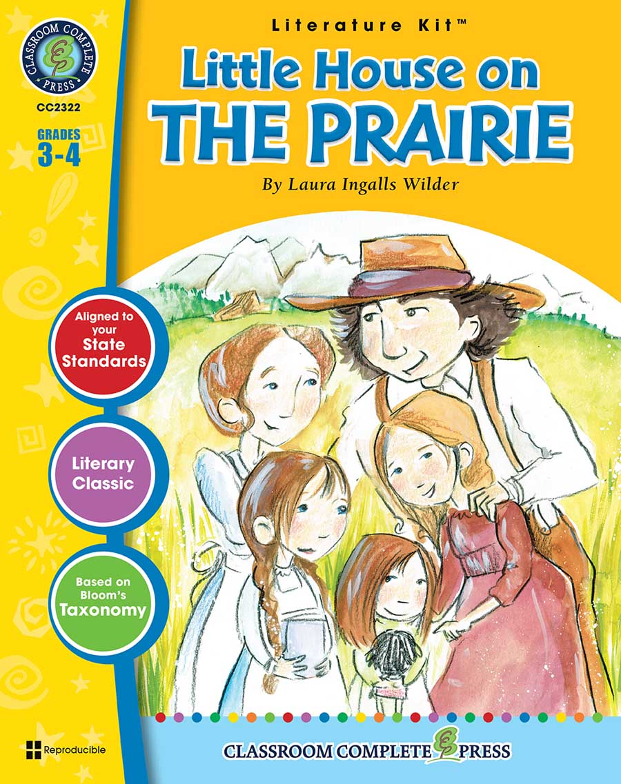 Little House on the Prairie - Literature Kit Gr. 3-4 - print book
