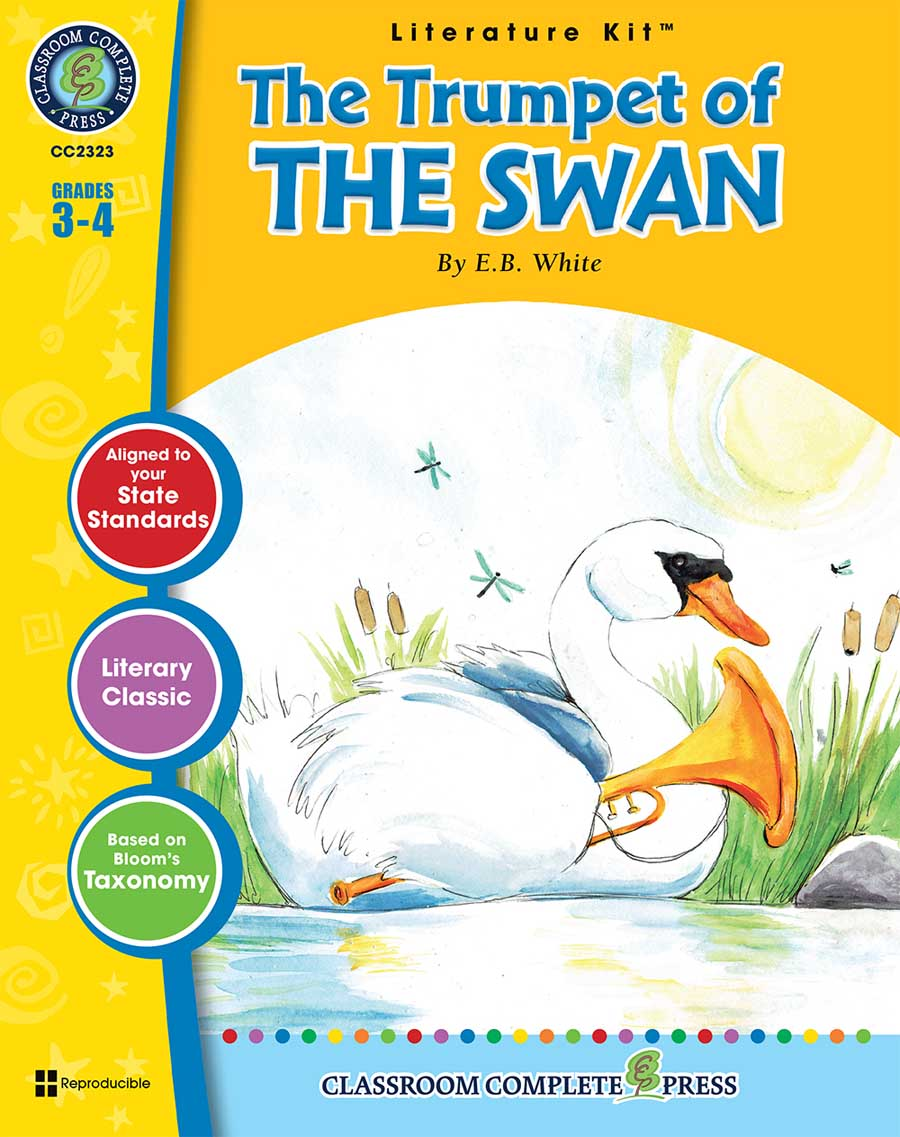 The Trumpet of the Swan - Literature Kit Gr. 3-4 - print book