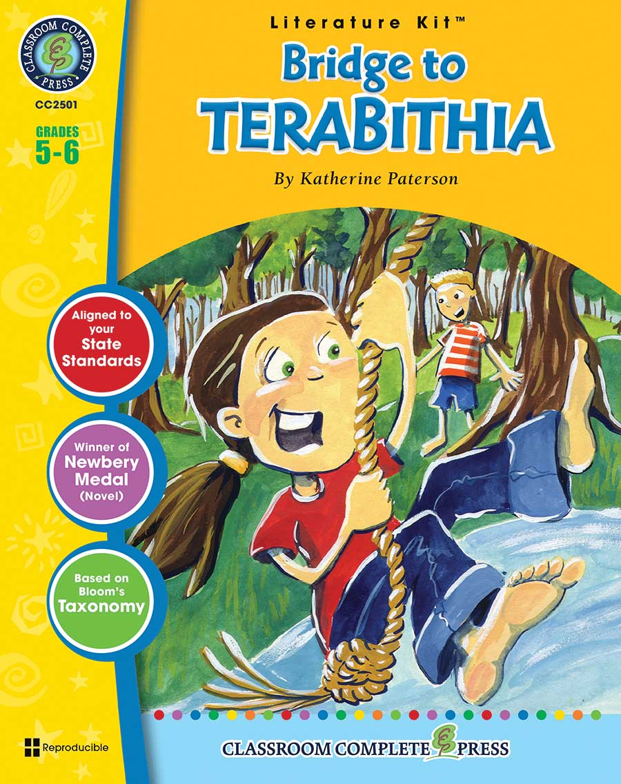 Bridge to Terabithia - Literature Kit Gr. 5-6 - print book