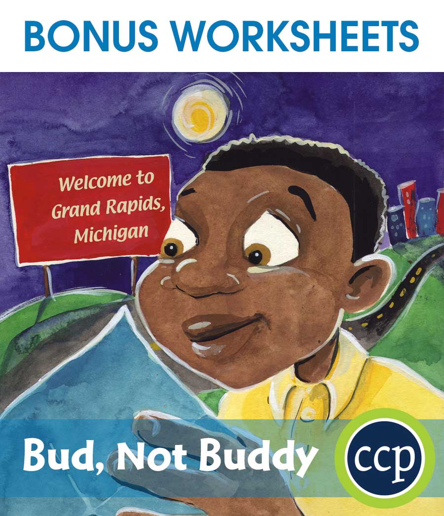 Bud, Not Buddy - Literature Kit Gr. 5-6 - BONUS WORKSHEETS - eBook