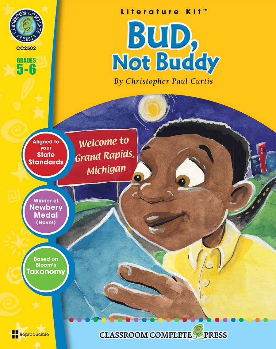Bud, Not Buddy - Literature Kit Gr. 5-6 - print book