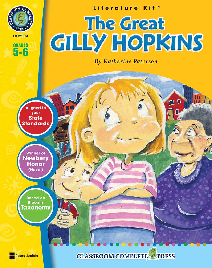 The Great Gilly Hopkins - Literature Kit Gr. 5-6 - print book