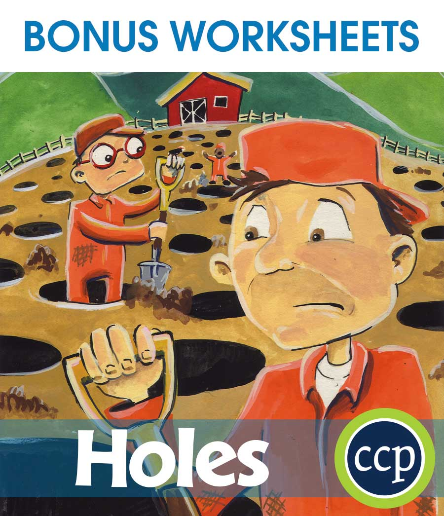 Holes - Literature Kit Gr. 5-6 - BONUS WORKSHEETS - eBook