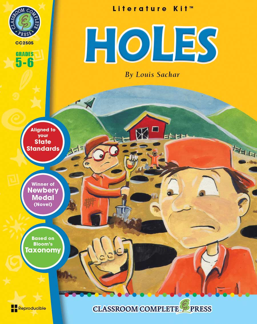 Holes - Literature Kit Gr. 5-6 - print book