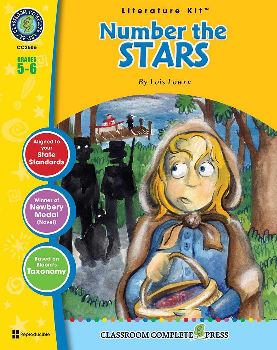 Number the Stars - Literature Kit Gr. 5-6 - print book