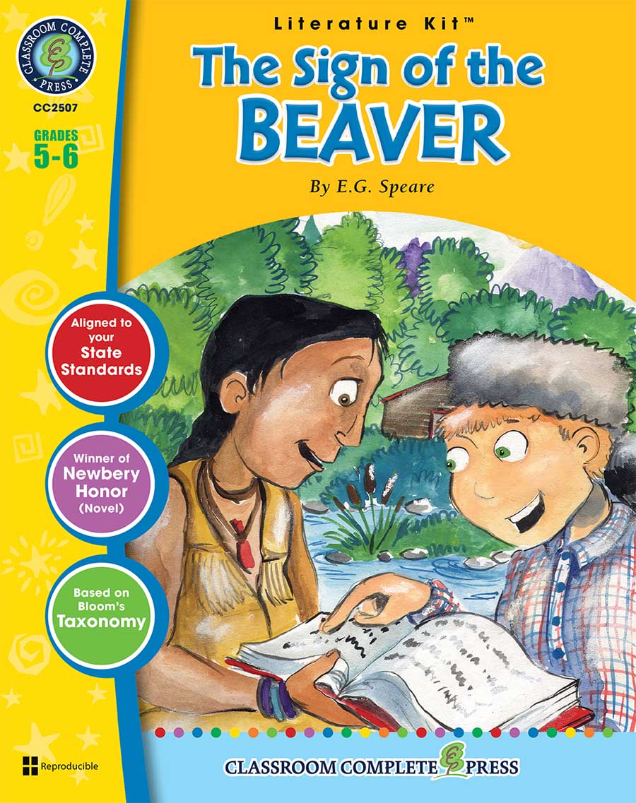 The Sign of the Beaver - Literature Kit Gr. 5-6 - print book