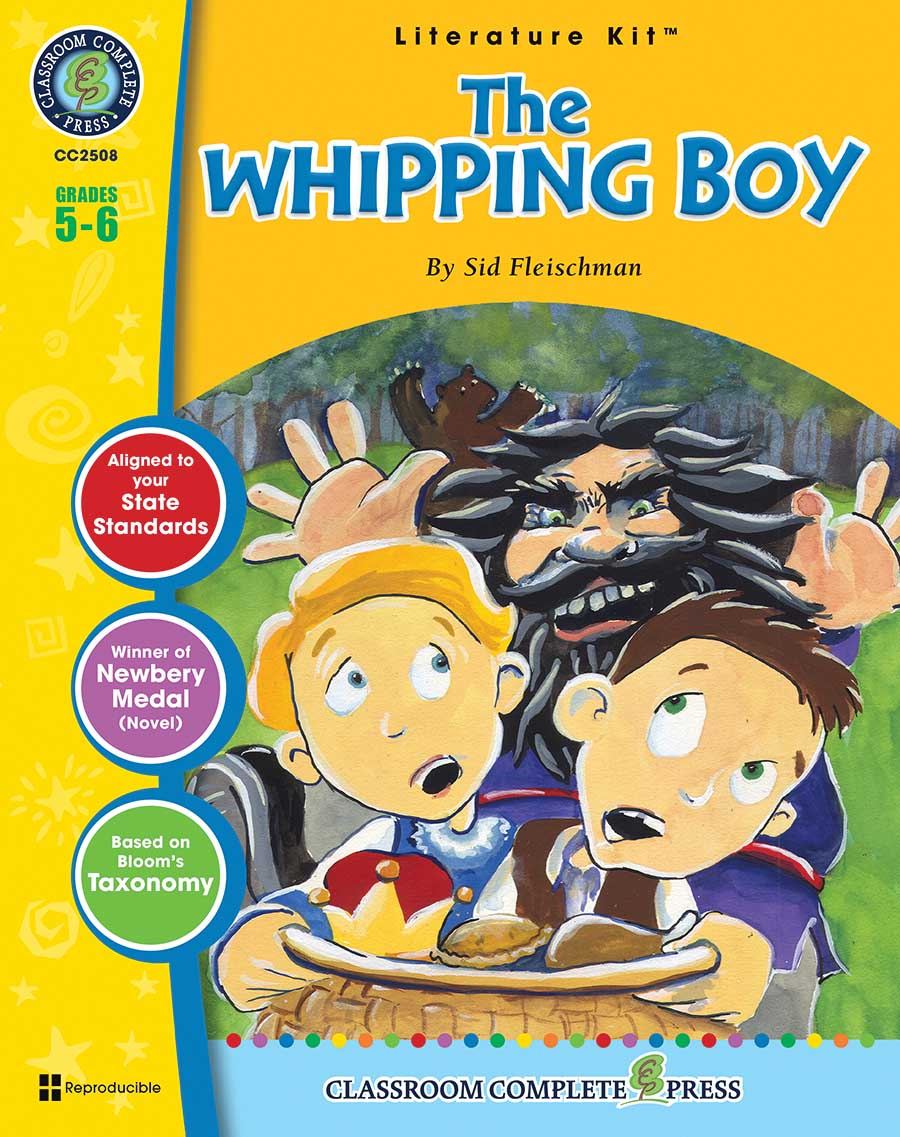 The Whipping Boy - Literature Kit Gr. 5-6 - print book