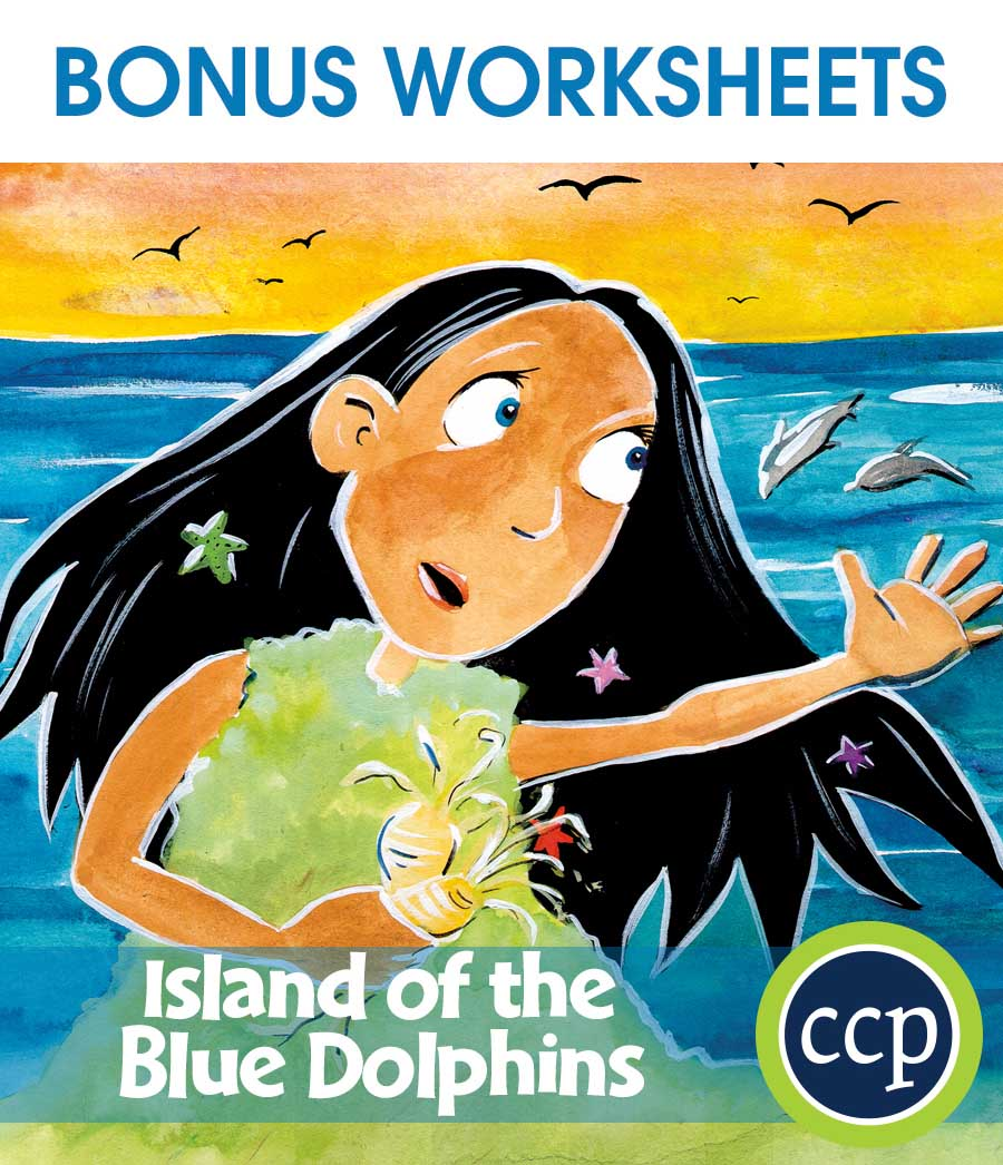 Island of the Blue Dolphins - Literature Kit Gr. 5-6 - BONUS WORKSHEETS - eBook