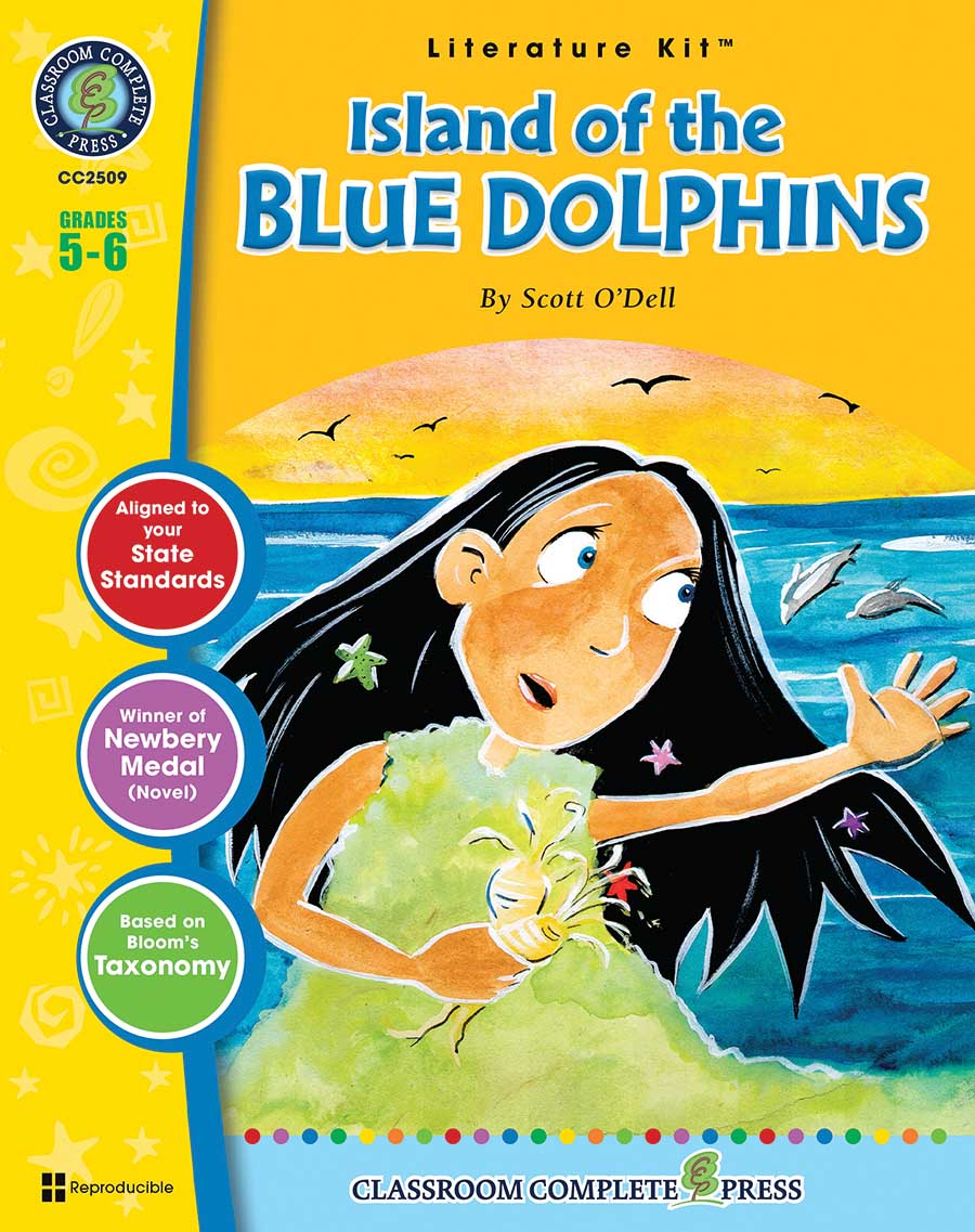 Island of the Blue Dolphins - Literature Kit Gr. 5-6 - print book